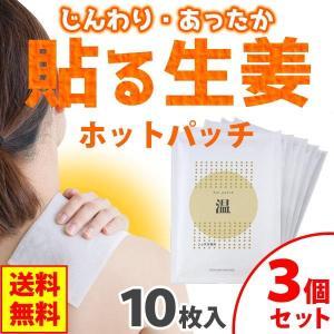ホットパッチ(10枚入(1枚10cm×14cm)) 3個セット 吉田養真堂 ネコポス発送のため代引・同梱不可  5月新商品|shizenkan