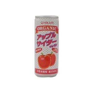 オーガニック アップルサイダー+レモン(250ml) ヒカリ|shizenkan