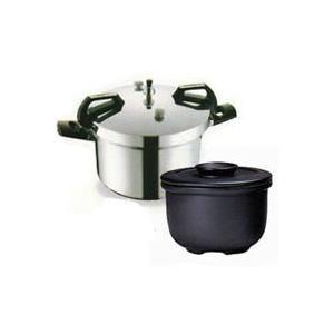 平和圧力鍋 PCD-10W+新・特選カムカム鍋II8Wセット 鋳物屋|shizenkan