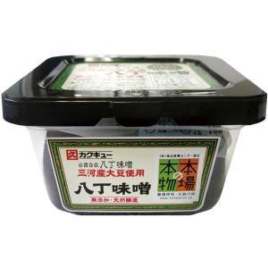 角久(カクキュー) 三河産大豆使用 八丁味噌(300g) 合資会社八丁味噌|shizenkan