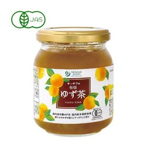 オーサワの有機ゆず茶(260g) オーサワジャパン 数量限定 冬季限定 shizenkan