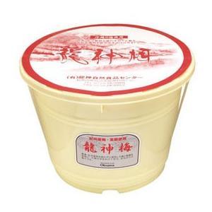 龍神梅(樽)(4kg) 大容量商品 オーサワジャパン メーカー直送につき代引・同梱・海外発送不可|shizenkan