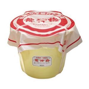 龍神梅(樽)(8kg) 大容量商品 オーサワジャパン メーカー直送につき代引・同梱・海外発送不可|shizenkan