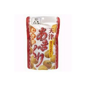 有機むきぐり(天津あまぐり・むき栗)(80g) 丸成商事
