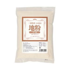 三重県産小麦使用 地粉(中力粉)(1kg) 健友交易