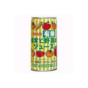 有機果実と野菜のジュース(190g) ヒカリ|shizenkan