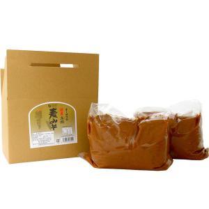 国内産立科麦みそ(3.6kg) 大容量商品 オーサワジャパン|shizenkan