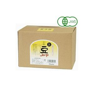 有機立科豆みそ(3.6kg) 大容量商品 オーサワジャパン|shizenkan