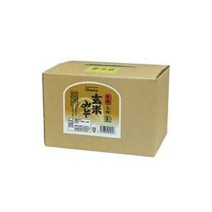 有機立科玄米みそ(3.6kg) 大容量商品 オーサワジャパン 数量限定|shizenkan