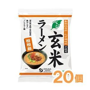 オーサワのベジ玄米ラーメン(担担麺)(132g(うち麺80g...