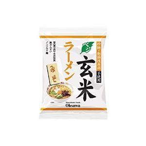 オーサワのベジ玄米ラーメン(みそ)(118g(うち麺80g)) オーサワジャパン...