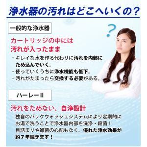 浄水器ハーレーII(正規輸入品) 除塩素シャワーとロングスパウト(25cm)をプレゼント! RHS|shizenkan|04