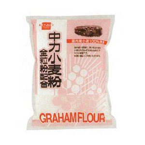 中力小麦粉全粒粉配合(500g) 健康フーズ