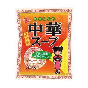 中華スープ(114g(38g×3袋)) 健康フーズ|shizenkan