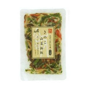 きのこ山菜御飯(110g(2合用)) 小川の庄|shizenkan