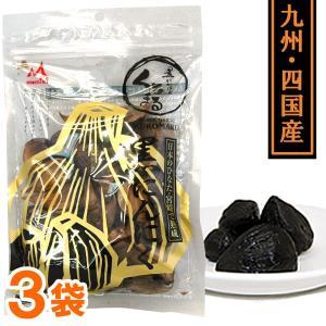 熟成黒にんにく くろまる(31粒(120g以上)) 3袋セット MOMIKI|shizenkan