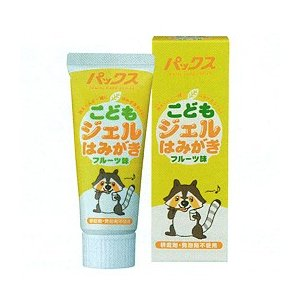 パックス こどもジェルはみがき(フルーツ味)(50g) 太陽油脂|shizenkan