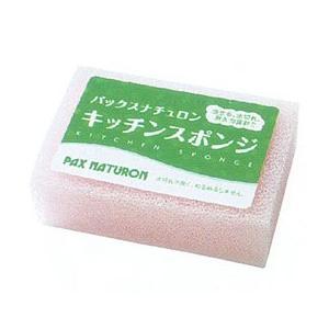 パックスナチュロン キッチンスポンジ(ピンク)(1個(8g)) 太陽油脂|shizenkan