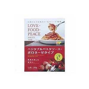 ベジタブルパスタソース・ボロネーゼタイプ(140g) 創健社