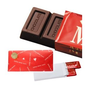 ミルクチョコレート ラッピング(70g×2本) 創健社 数量限定|shizenkan