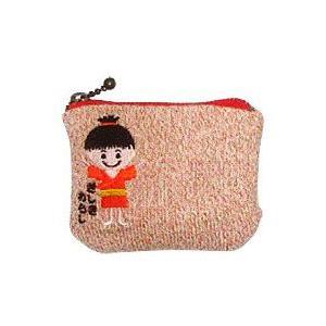 ざしきわらし財布 ファスナータイプ ショート オレンジラメ 杉山ニット工業 在庫限り|shizenkan