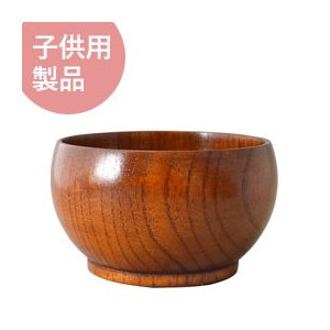 YOKOHAMA WOOD ナツメこども椀(ウルシ) TOMATO畑 shizenkan