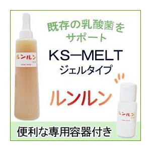 乳酸菌生産物質 ルンルンジェル(詰め替え容器付き)(315g) KS西日本|shizenkan