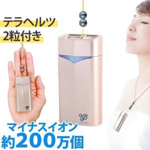 超小型マイナスイオン発生器 KBエアマスク(KB AIR MASK)シャンパンゴールド まるも|shizenkan