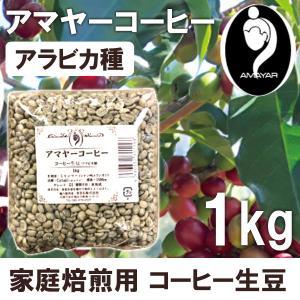 家庭焙煎用コーヒー生豆 アマヤーコーヒー(1kg) まるも|shizenkan