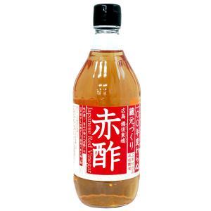 三年仕込み本格醸造 広島備後東城 赤酢(あかす)(500ml) NAPIA shizenkan