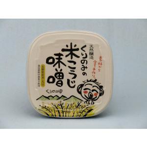 【期間限定ポイントアップ10%】天然醸造 くりのみの米こうじ味噌500g|shizenkizuna-store