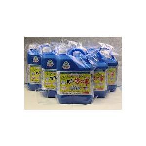 【北海道へは販売不可】北海道積丹半島・天然湯の華2L×6本/積丹半島余市産 湯の華【沖縄・離島は送料別途800円かかります】|shizenkizuna-store
