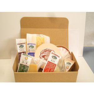 北海道 チーズ 誇り高きチーズ6品Aセット(木箱無) ウオッシュ系[おこっぺ山のチーズ]が丸ごと400g shizenkizuna-store