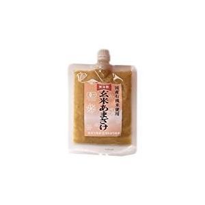 自然栽培のお米と水のみで作った玄米甘酒(粒)250g・6個入 shizenkizuna-store