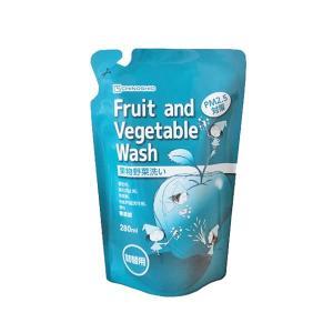 野菜果物用洗剤 Fruit and Vegetable Wash (詰替用) 280ml|shizenkizuna-store
