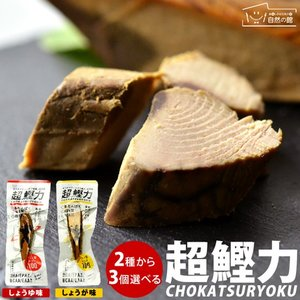 2種から3個選べる カツオスティック 超鰹力 おつまみ 一品料理 おやつ 鰹 カツオ かつお 魚 1000円 ポッキリ ぽっきり 送料無料
