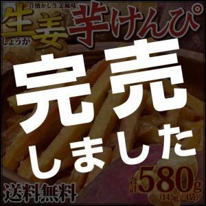 スイーツ (栗 芋 秋 かぼちゃ) 芋けんぴ 生姜けんぴ 合計580g (145g×4袋セット) 送料無料