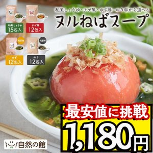 スープ ヌルねばスープ 最大15包 送料無料 ねばねば ネバネバ