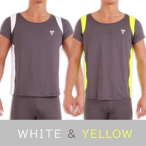 ランニングウェア [シャツ] メンズ M L レディースにも 動きやすい 速乾 軽い 通気性抜群 メッシュ加工 マラソン大会 運動会|shizenshop