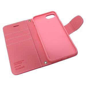 iphone8 iPhone7 専用 手帳型 シンプル ケース カバー 2WAYストラップ付 カード収納あり 全3色 アイフォン8 7 iphone 8 7 保護ケース iphone7 手帳ケース shizukawill 05
