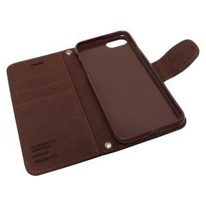 iphone8 iPhone7 専用 手帳型 シンプル ケース カバー 2WAYストラップ付 カード収納あり 全3色 アイフォン8 7 iphone 8 7 保護ケース iphone7 手帳ケース shizukawill 06