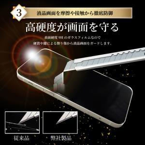 iphone 保護フィルム iPhone8 iPhone7 XR XS MAX 7 Plus ガラスフィルム 日本製旭硝子 硬度9H アイフォン6 6s iPhoneX SE 5s 5 防指紋 アイフォン8 7 フィルム|shizukawill|06