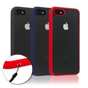 iPhone8 iPhone7 ケース 専用 耐衝撃 ハイブリット 高透明 背面PC + 脱着簡単 ...