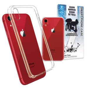 Apple iPhoneXR 専用 クリア ケース カバー TPU ケース  耐衝撃 透明 衝撃吸収 ストラップホール ストラップ付 アイフォンXR ケース iPhone XR カバー|shizukawill