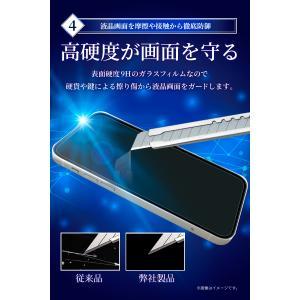 Google Pixel3a 目に優しい ブルーライトカット フルカバー フィルム 日本旭硝子 硬度9H ピクセル 3a ガラスフィルム ドコモ ピクセル3a Pixel 3a 保護 黒色 shizukawill 06