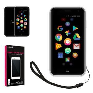 Palm Phone 専用 TPU 高透明 耐衝撃 衝撃吸収 ストラップ付 パームフォン クリア ケース カバー TPU ケース PalmPhone ソフト ケース|shizukawill