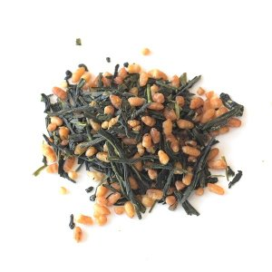 「マル桐玄米茶」150g お茶の葉桐 玄米茶 茶葉 お茶 緑茶 煎茶 静岡茶 お茶っ葉 おちゃっぱ 日本茶|shizuokahagiricha|02