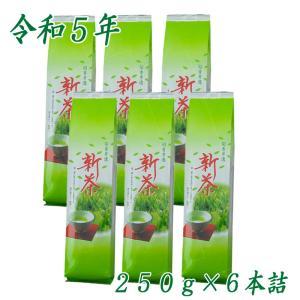 牧之原産『深むし新茶』250g×6/送料無料|shizuokaochaya