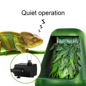 爬虫類 給水 ポンプ ペット 自動