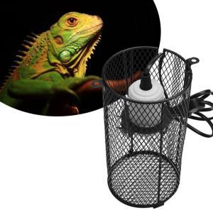 爬虫類 両生類 セラミックヒーター カバー付き 温度管理